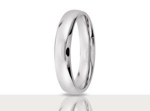 Argollas de Matrimonio Oro Blanco | Argollas | Amore Mio!