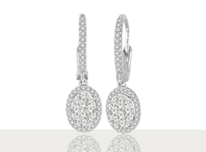 Aretes con Diamantes | Earrings | Amore Mio!