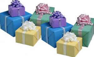 La mesa de regalos: Una decisión conveniente.