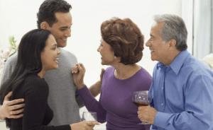 Conociendo a los padres de mi pareja