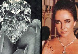 Elizabeth taylor y su diamante