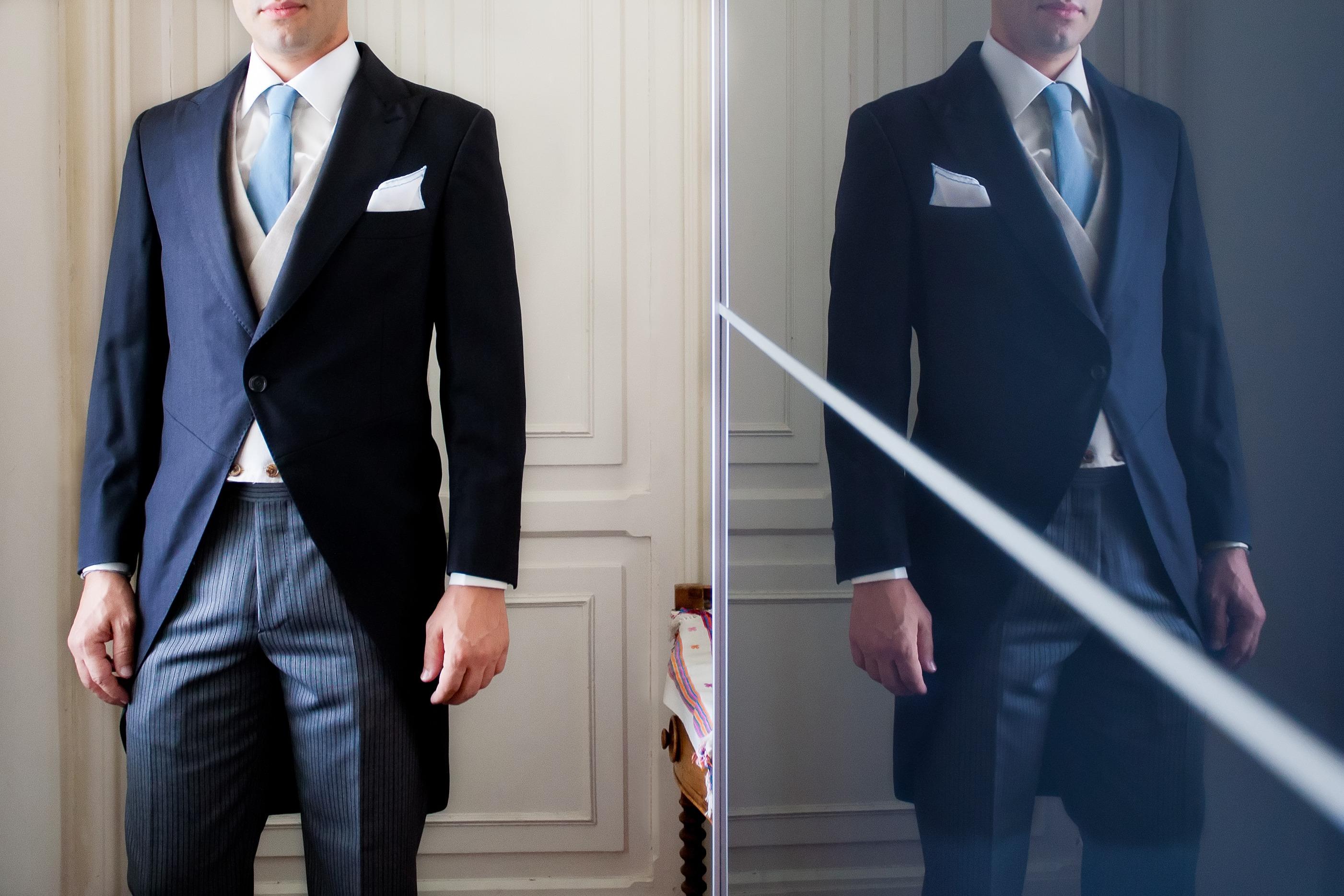 Tips para elegir tu traje de novio