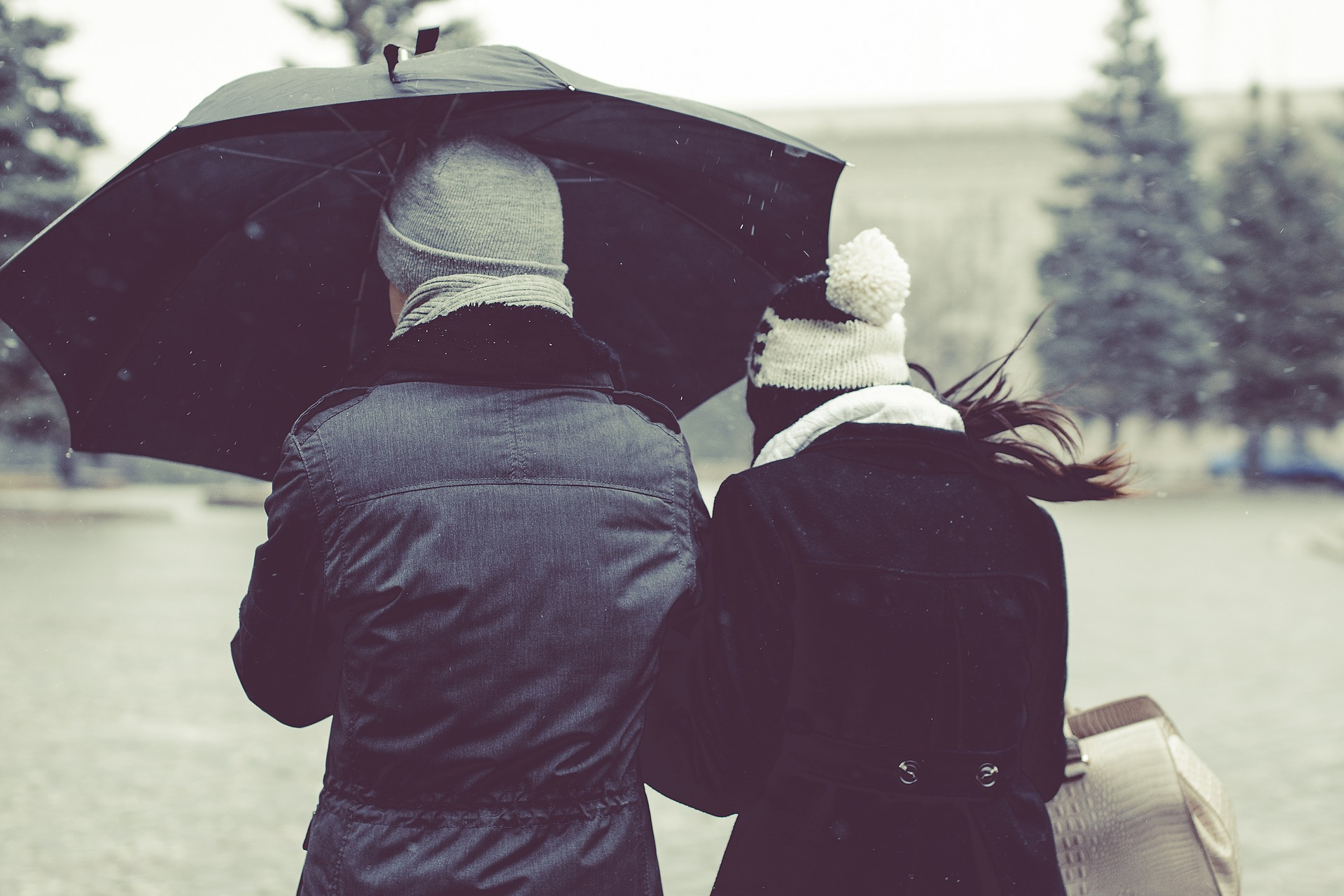 Planes en pareja para un día lluvioso