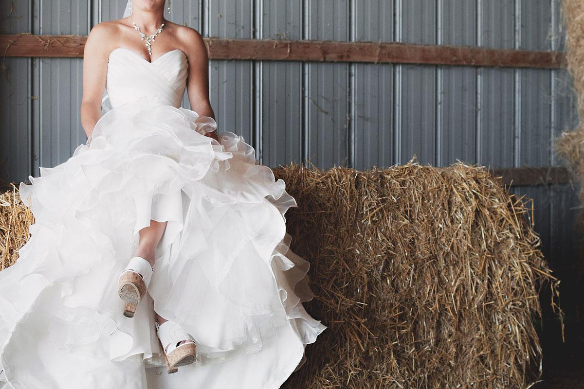 Vestidos de novia estilo otoño-invierno