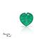 Agata corte Heart de 6X6 mm