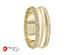 Argolla de matrimonio unisex, con zirconia (precio unitario)