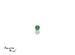 Emerald corte Round de 1.25 mm