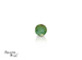 Emerald corte Round de 3.5 mm