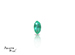 Emerald corte Martquise de 4X2 mm