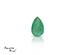 Emerald corte Pear de 6X4 mm
