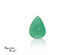 Emerald corte Pear de 7X5 mm