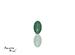 Emerald corte Oval de 5X3 mm