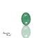 Emerald corte Oval de 6X4 mm