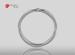 Anillo de compromiso de oro de 14k, con diamante central de:  0.14 Puntos Color-  D Claridad-  SI1