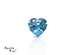 Topaz corte Heart de 6X6 mm