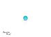 Turquoise corte Cabachon de 2X2 mm