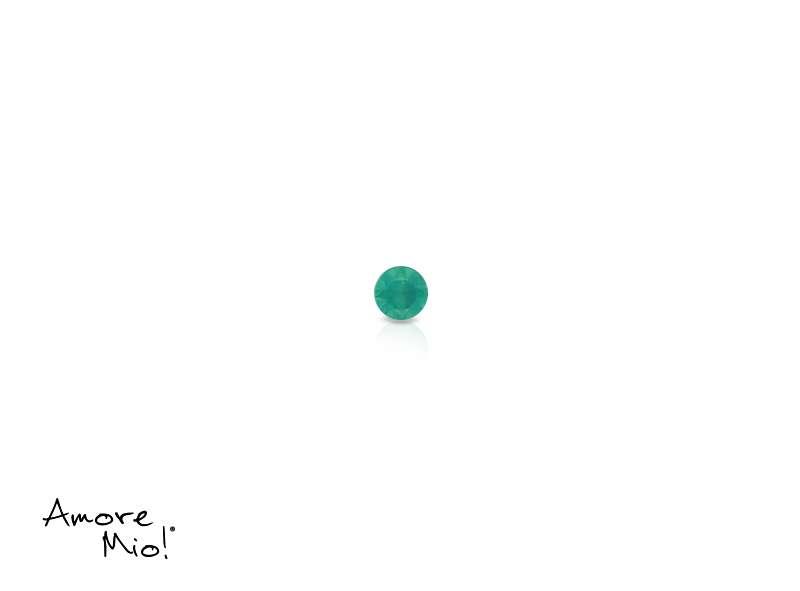 Agata corte Round de 1.25 mm
