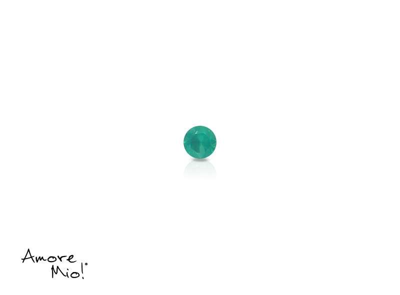 Agata corte Round de 1.5 mm