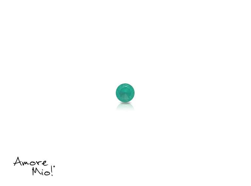 Agata corte Round de 1.75 mm