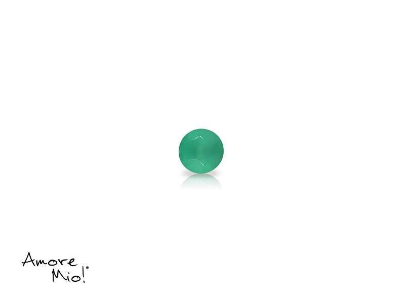 Agata corte Round de 2.5 mm