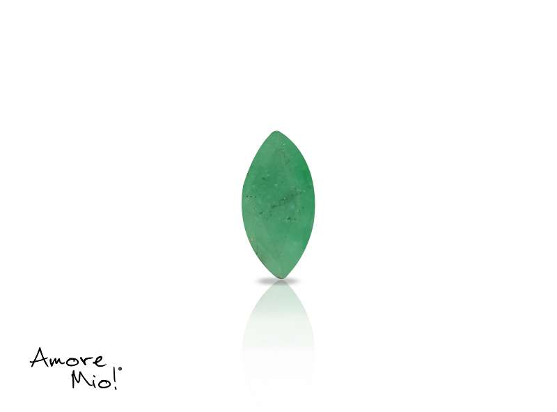 Emerald corte Martquise de 6X3 mm