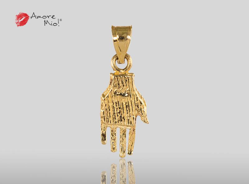 14k Yellow Gold Pendant