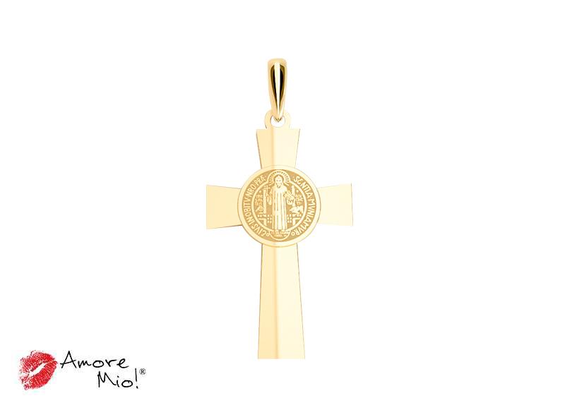 Dije de oro de 14kt cruz