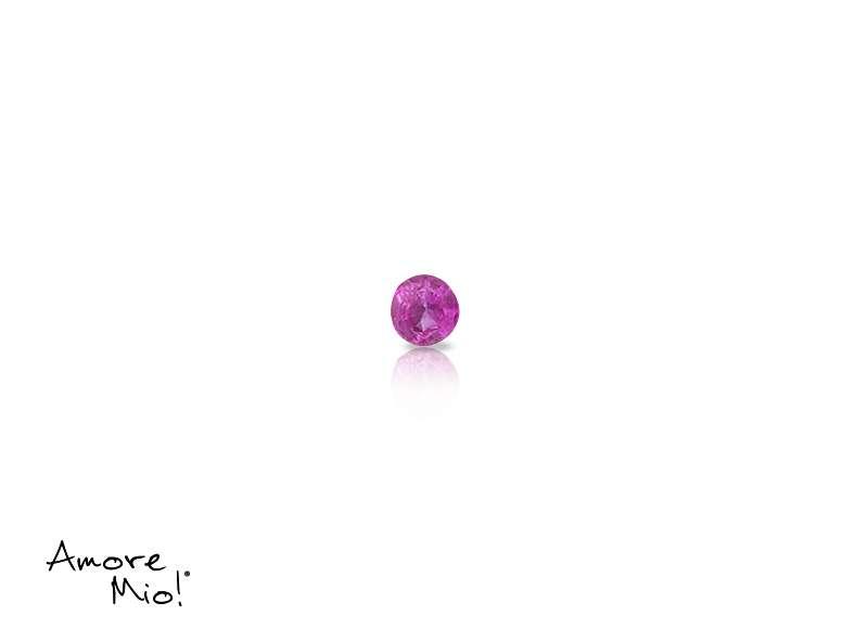 Ruby corte Round de 1.75 mm