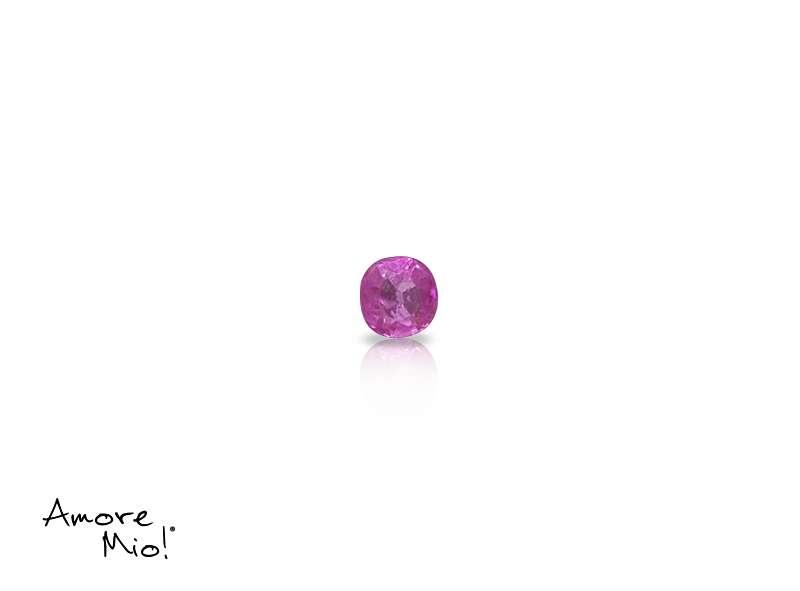 Ruby corte Round de 2.25 mm
