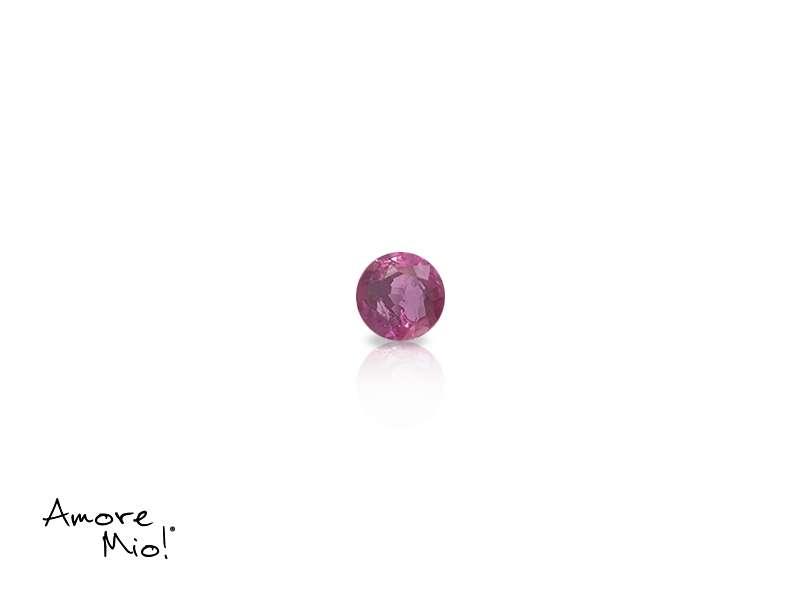 Ruby corte Round de 2.75 mm