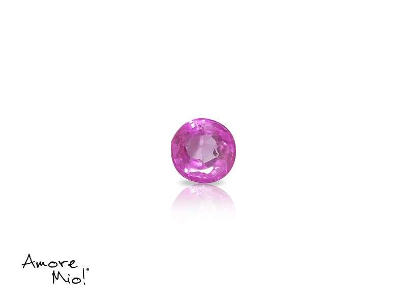 Ruby corte Round de 3.5 mm