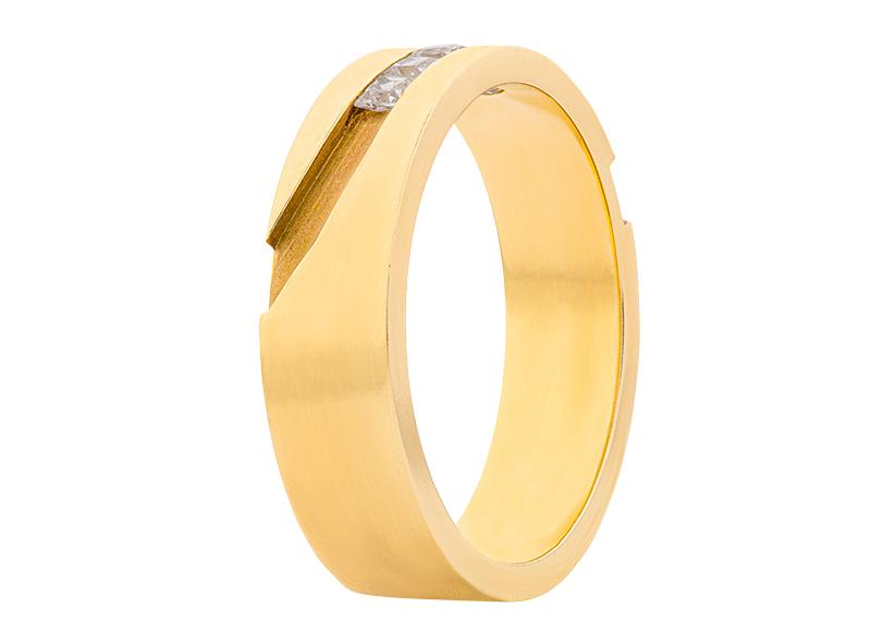 Argolla de matrimonio unisex de 5mm Maciza (precio unitario)