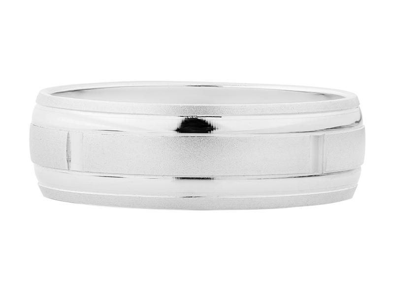 Argolla de matrimonio unisex de 6mm Hueca (precio unitario)