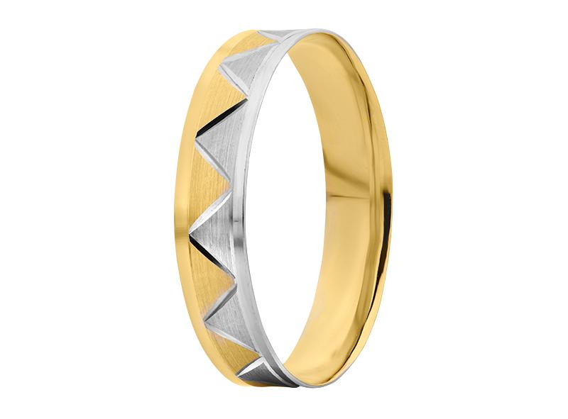 Argolla de matrimonio unisex de 4mm Maciza (precio unitario)