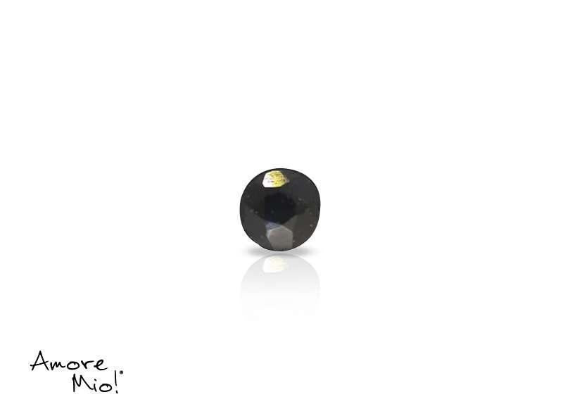 Zafiro corte Round de 3.5 mm