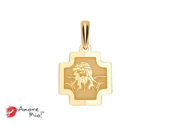 Medalla de oro de 14kt