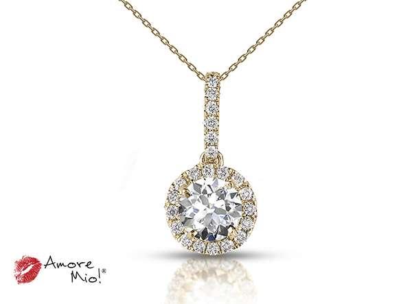 Dije De Oro Amarillo De 18kt! con Diamante