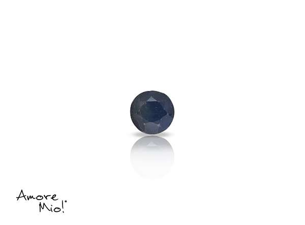 Topaz corte Round de 3.5 mm