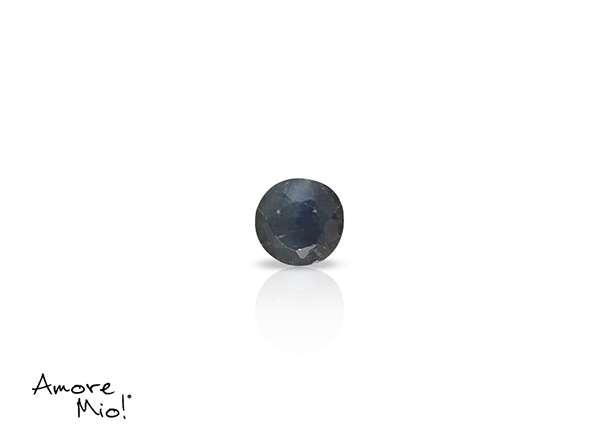 Zafiro corte Round de 3 mm