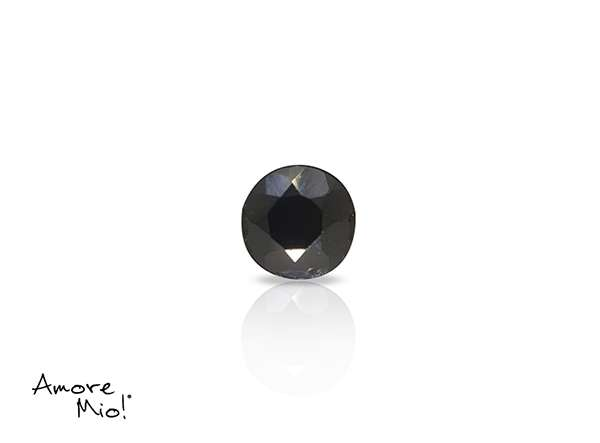 Zafiro corte Round de 4.5 mm