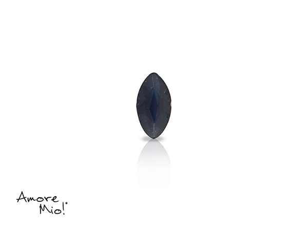 Zafiro corte Marquise  de 5X2.5 mm