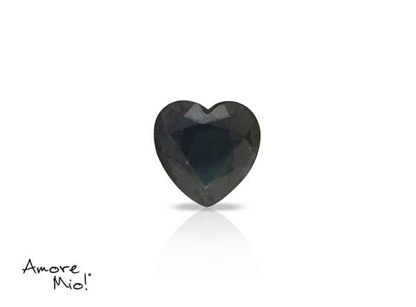 Zafiro corte Heart de 6X6 mm