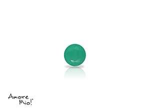 Agata corte Round de 3 mm