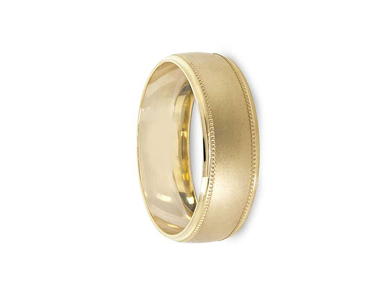 Argolla De Matrimonio Unisex Hueca (Precio Unitario)