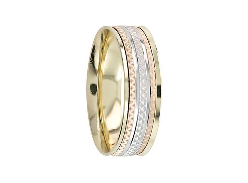 Argolla de matrimonio unisex, confort, giratoria (precio unitario)