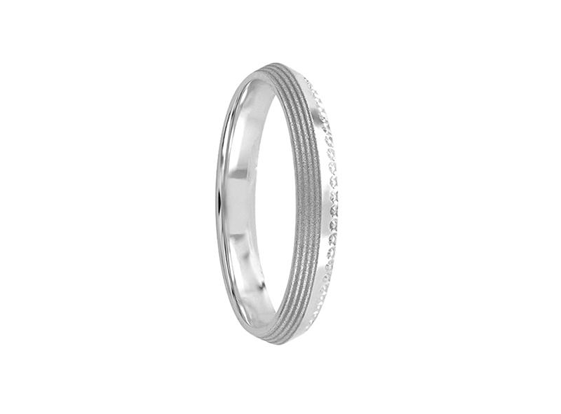 Unisex wedding band, solid (unitary price)