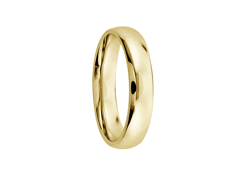 Unisex wedding band, confort (unitary price)