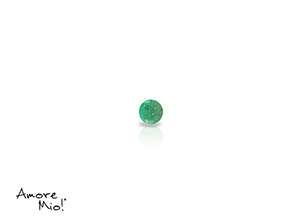 Emerald corte Round de 1.75 mm
