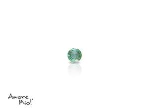 Emerald corte Round de 2.25 mm