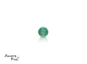 Emerald corte Round de 2.75 mm